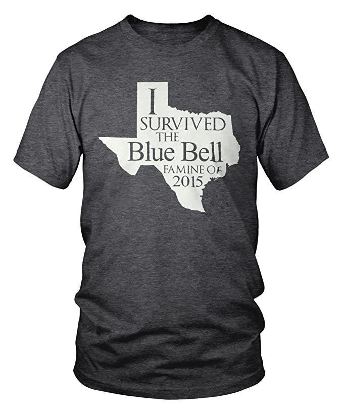 discount I Survived the Blue Bell Famine of 2015 Brenham Texas T-Shirt get discount