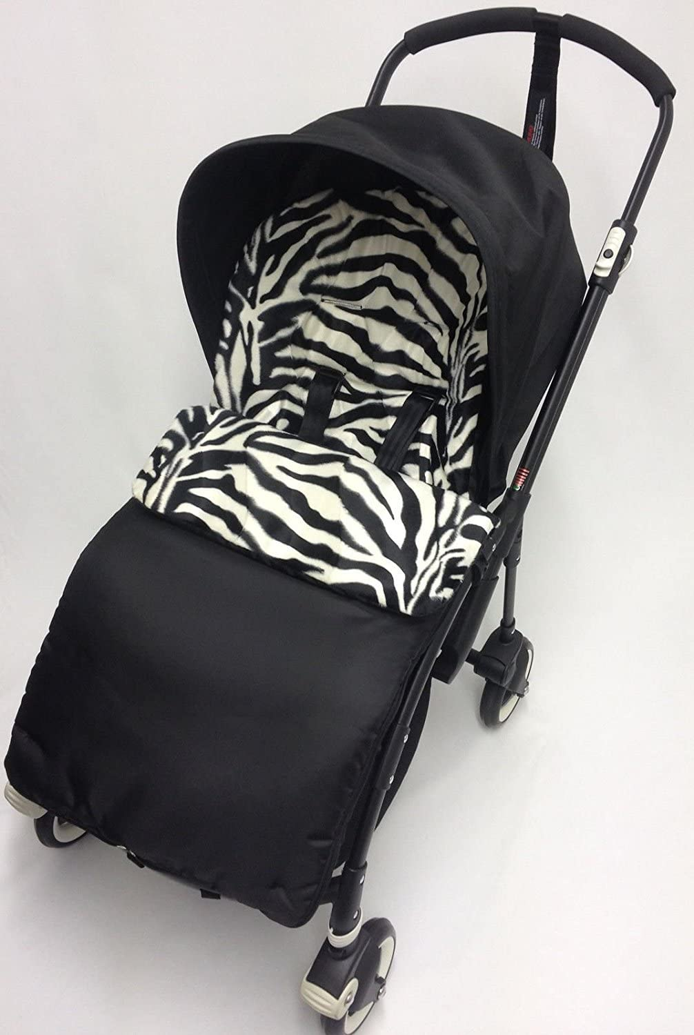 Animal Print saco/Cosy Toes Compatible con Bugaboo Bee Plus Zebra ...