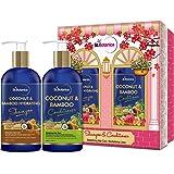 StBotanica Coconut Oil & Bamboo Hair Strengthening Shampoo + StBotanica Coconut & Bamboo Hair Conditioner, 300ml
