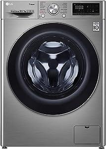 LG 10.5/7.0 Kg Inverter Wi-Fi Washing Machine (FHD1057SWS, Silver VCM, AI DD)
