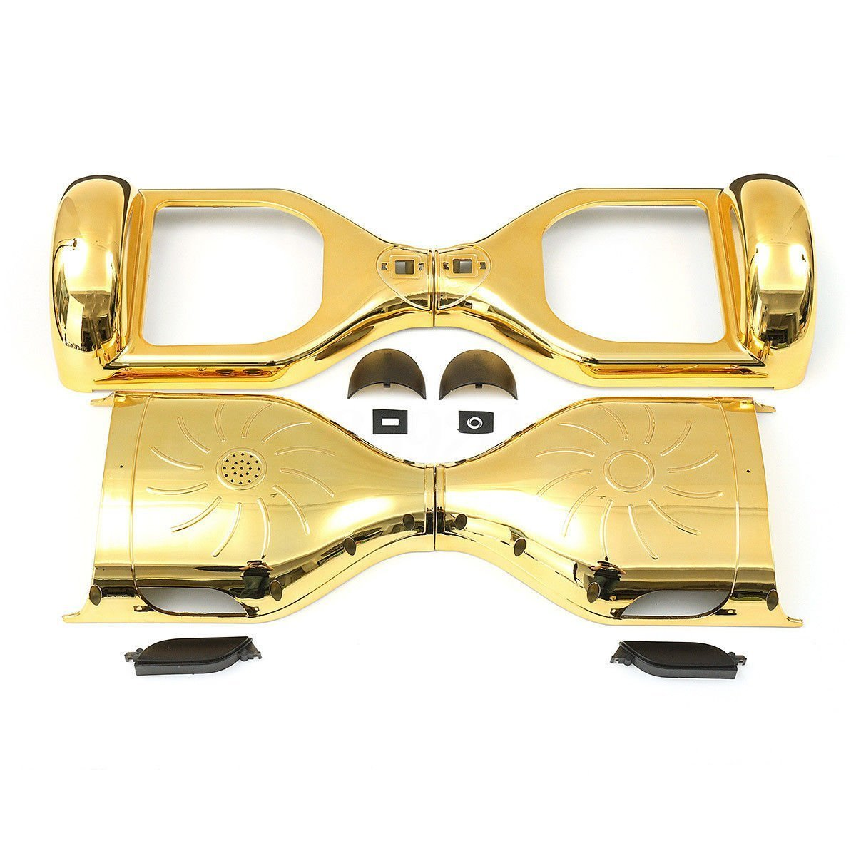 SHINEFUTURE 6.5'' Two Wheel Electric Self Balancing Scooter Outer Shell Cover Replacement DIY (gold)