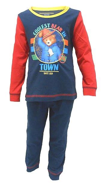 TDP Textiles Paddington Bear Coolest Bear Pijamas para niños de 18-24 Meses / 92cm