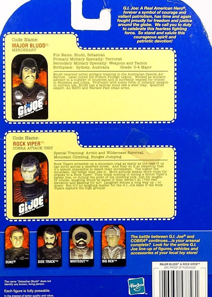 MAJOR BLUDD 1983 Pistolet Bleu GI JOE COBRA VINTAGE Accessoire