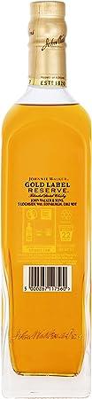 Johnnie Walker Gold Whisky Escocés - 700 ml