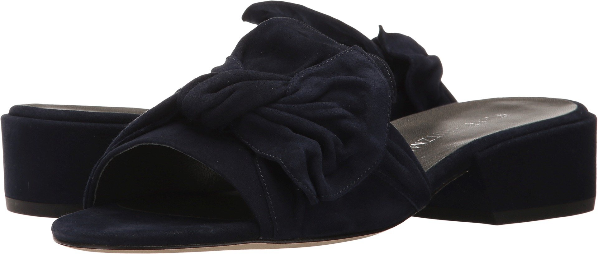 Stuart Weitzman Women's Giftwrap Nice Blue Suede Sandal