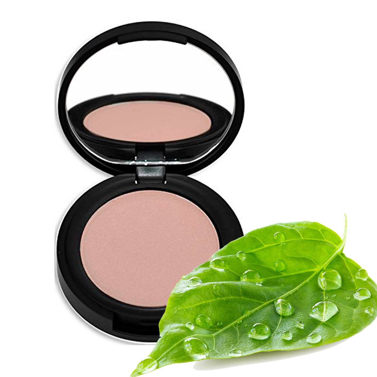 Better'n Ur Cheeks Mineral Blush (FLUSH) - Organic Botanicals & Minerals - Cruelty Free - Talc Free - Silky - Long Lasting - Made in USA