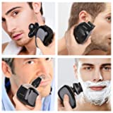 Beaucares Waterproof Men's Electric Shaver and