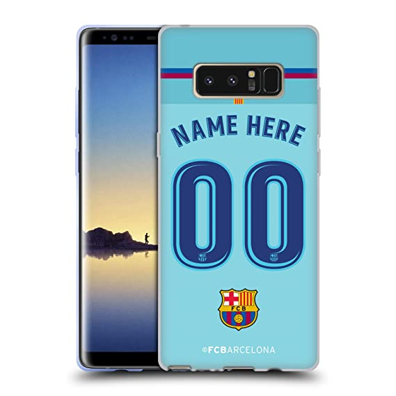 acd49991c0f Image Unavailable. Image not available for. Color  Custom Customized  Personalized FC Barcelona Away 2017 18 Kit Soft Gel Case for Samsung Galaxy