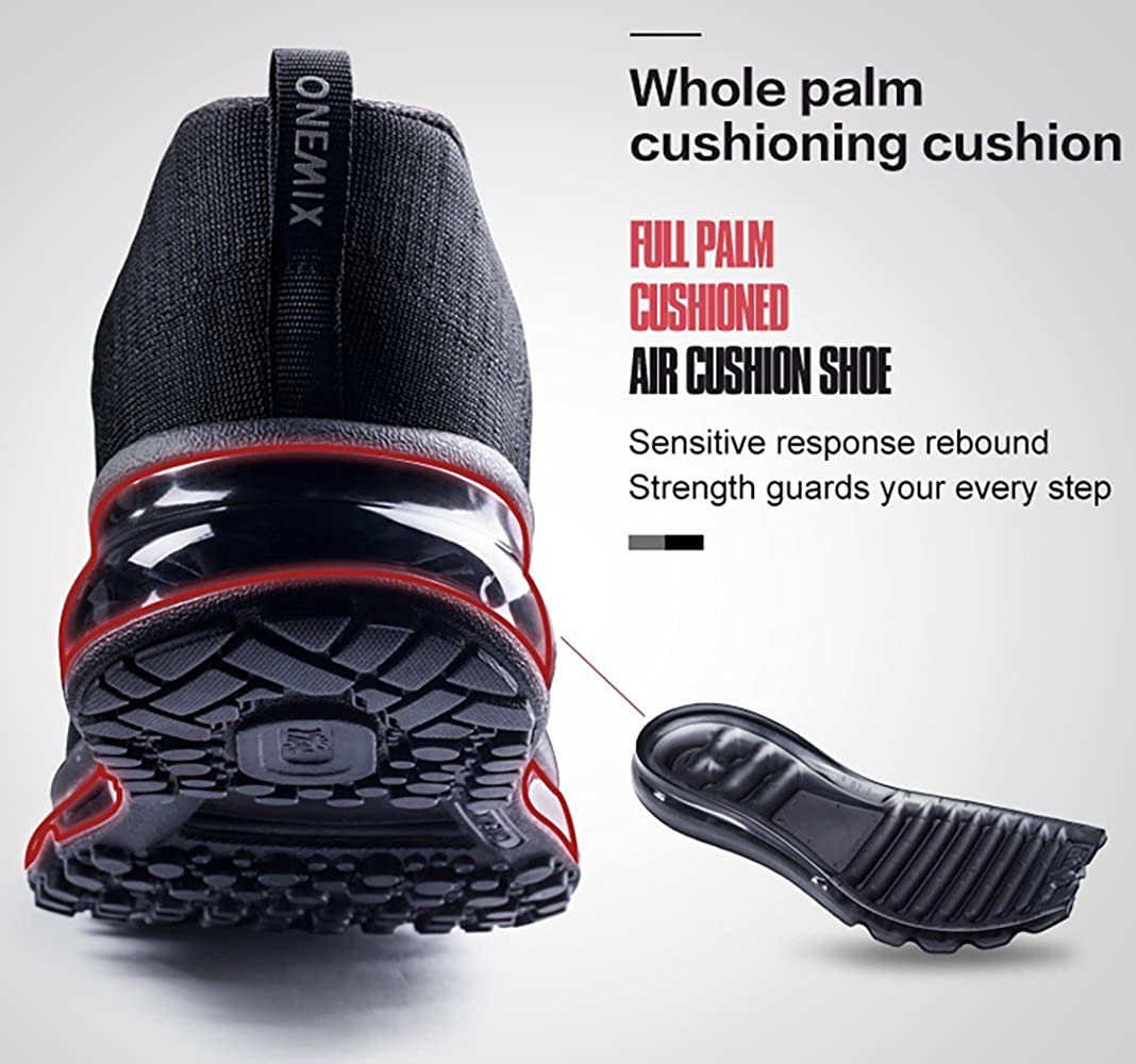 huge selection of da3c7 42c93 Amazon.com   ONEMIX Men s Air Cushion Running Shoes, Casual Athletic  Sneakers   Road Running