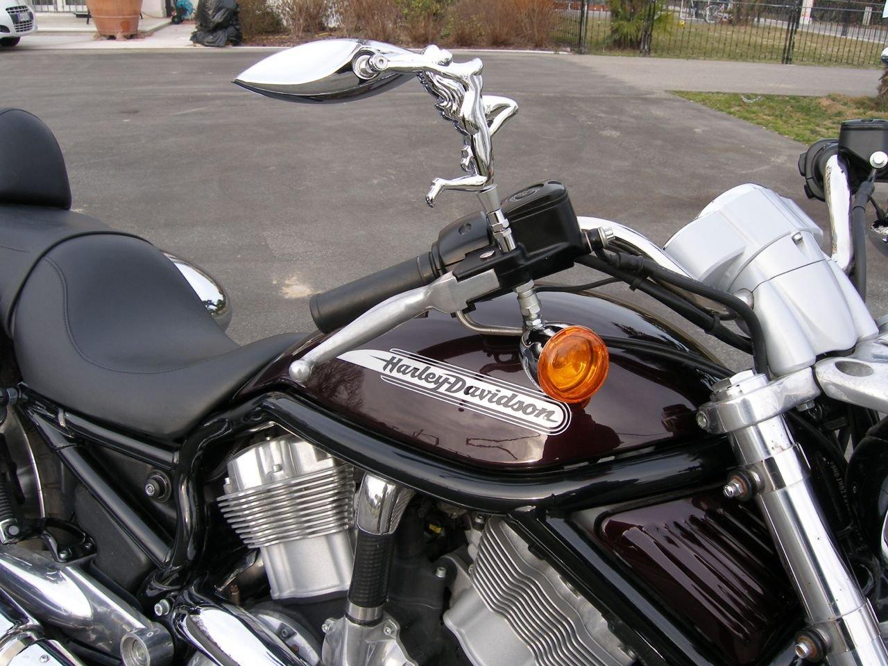 Harley Davidson Mirror Adapters for Metric Mirrors 795-pair