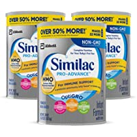 3-Pack Similac Pro-Advance Non-GMO Infant Formula with Iron (36 oz)