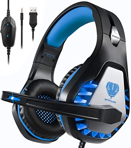 Auriculares Gaming para PS4/Xbox One/Nintendo Switch, Pacrate GH-1 ...