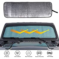 weixinbuy for Jeep JL Windshield Sunshade Window Sun