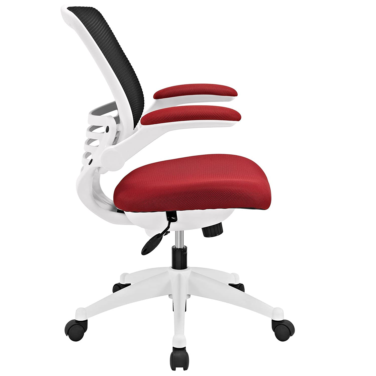 Amazon Modway Edge Mesh Back and Red Mesh Seat fice Chair