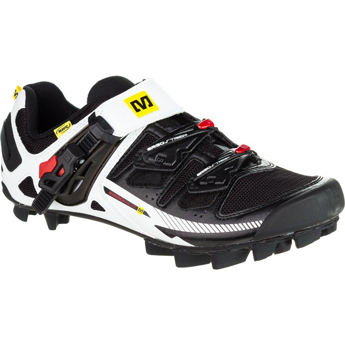 Mavic Tempo - Zapatillas MTB para hombre - blanco/negro Talla 43 1/3 2015: Amazon.es: Zapatos y complementos