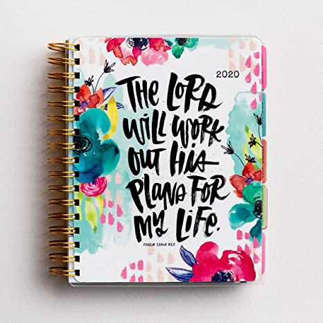DaySpring Katygirl - His Plans - 2020 18-Month Agenda Planner