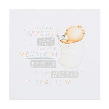 Hallmark - Tarjeta de felicitación para bebé Medium: Amazon ...