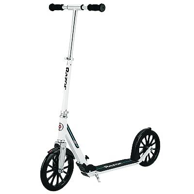 Razor A6 Kick Scooter - White: Sports & Outdoors