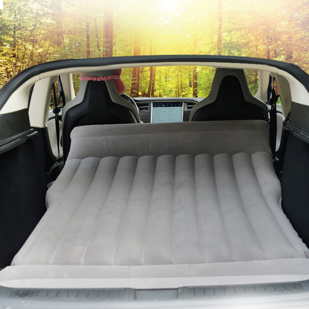 Car Air Bed Inflatable Mattress for Camping Travel Compatible Model S Model 3 Model X 5 Seater and alomst all Cars, SUVs by LMZX
