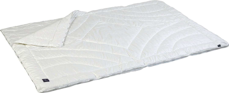 4-Jahreszeiten Funktions-Bettdecke, für trockenes Schlafklima auch bei Schwitzen, 60° waschbar, 155 x 220 cm