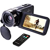Hausbell 302S Full HD 1080p Camcorder & 3