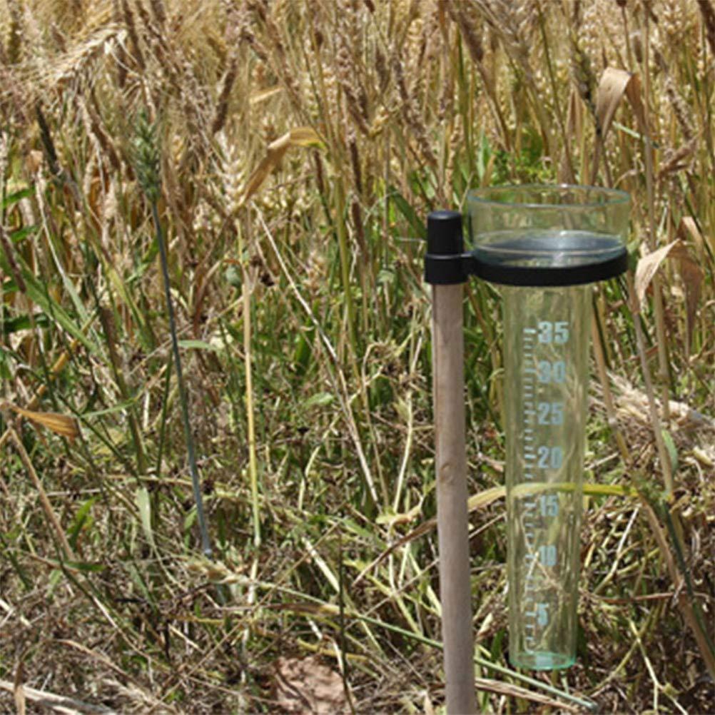 medidores de Lluvia de pl/ástico Profesional para Jardines y Jardines KENANLAN 2 Unidades de medidores de Lluvia /único Tipo de Registro de observaci/ón de Lluvia Herramienta agr/ícola
