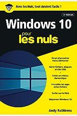 Windows 10 pour les Nuls, poche, 5e éd. (French Edition) Kindle Edition