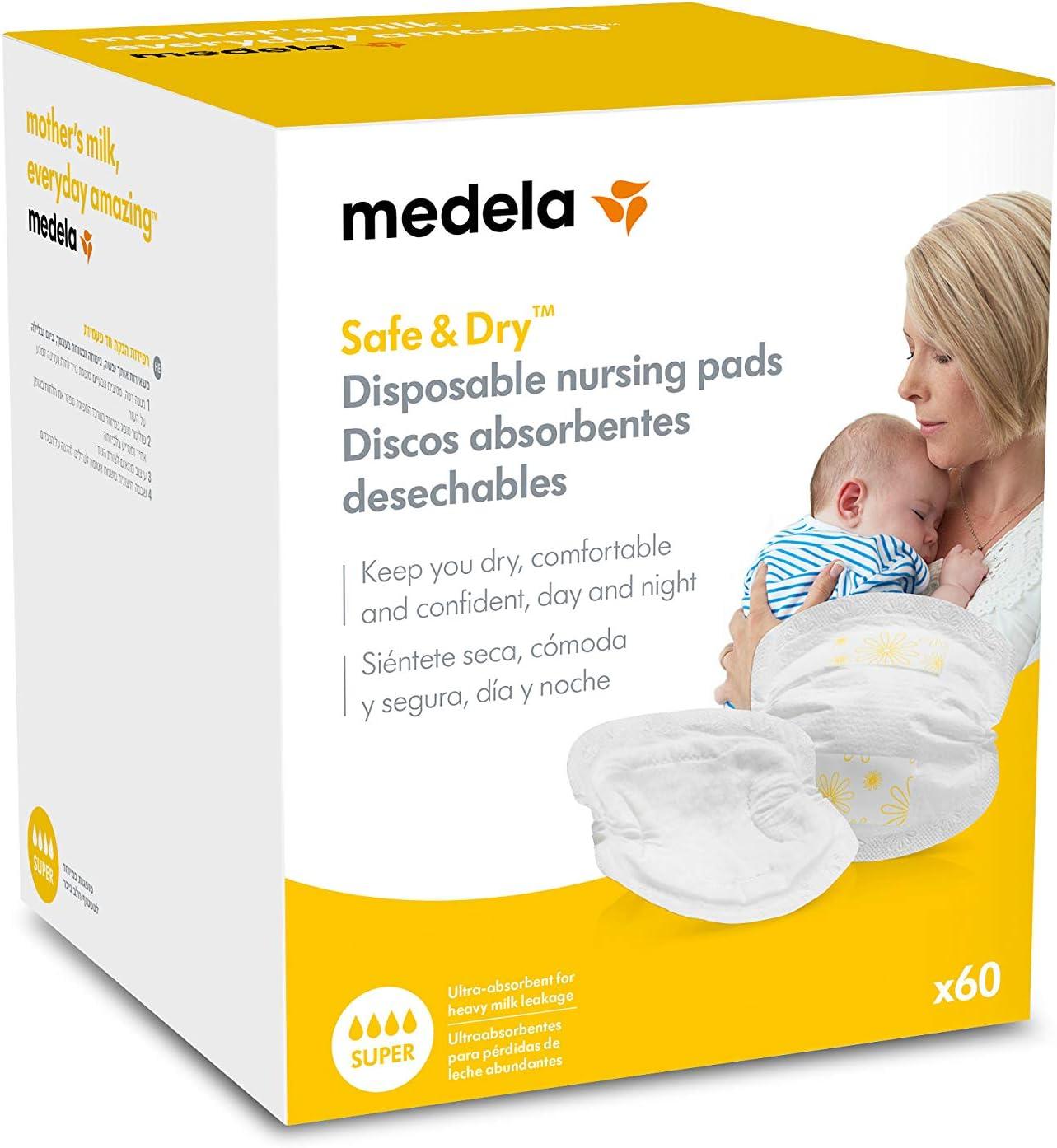 Medela 0080323 - Discos absorbentes desechables lactancia para ...