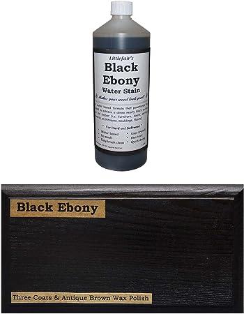 Teinture pigmentaire pour poterie c/éramique fa/ïence gr/ès porcelaine 10 g Ebony Black