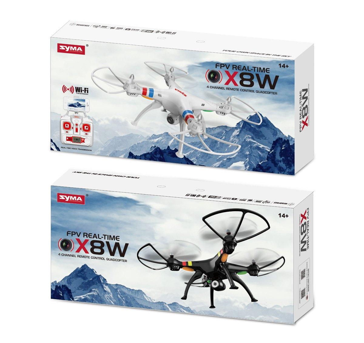 Cuadricóptero Drone FPV Quadcopter con cámara HD original Syma X8W ...