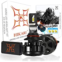 $89 » HIKARI Ultra LED Headlight Bulbs Conversion Kit -HB4/9006, Prime LED 12000lm 6K Cool White,2…