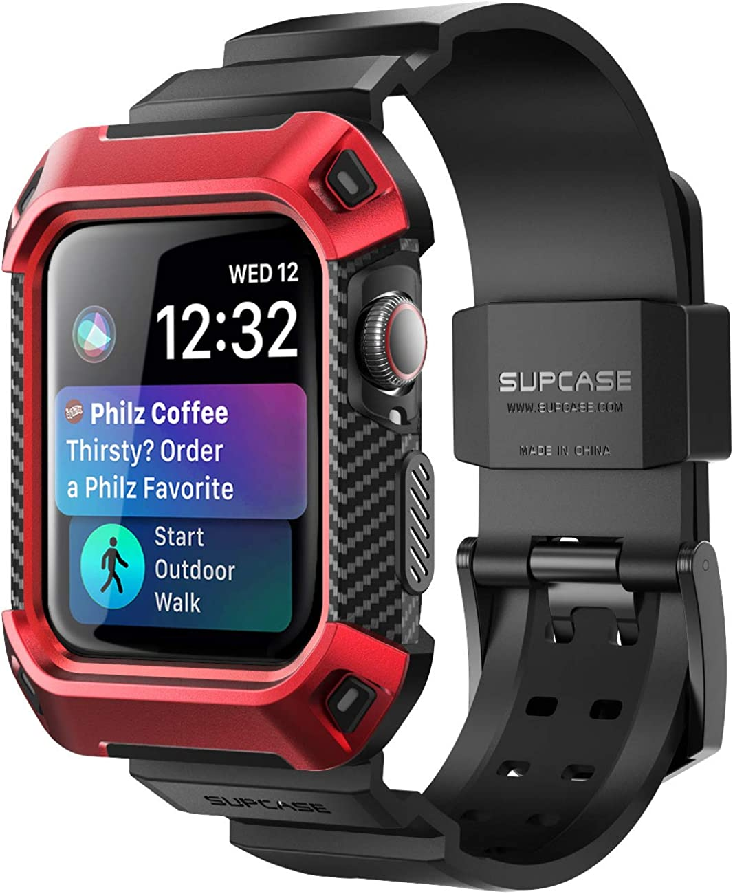 SUPCASE [Unicorn Beetle Pro] Designed for Apple Watch Series 6/SE/5/4 [40mm], Rugged Protective Case with Strap Bands