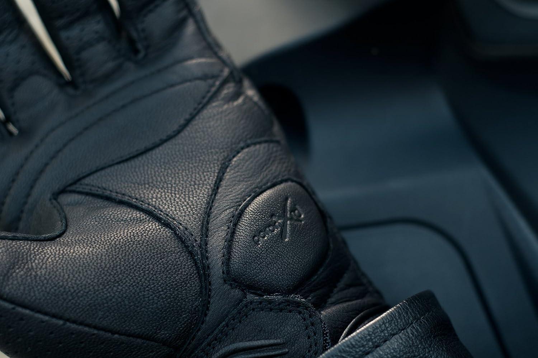 Shima BULLET MEN D/ét/é Cuir Homme R/étro Classique Gants Moto Taille:S Noir S-4XL