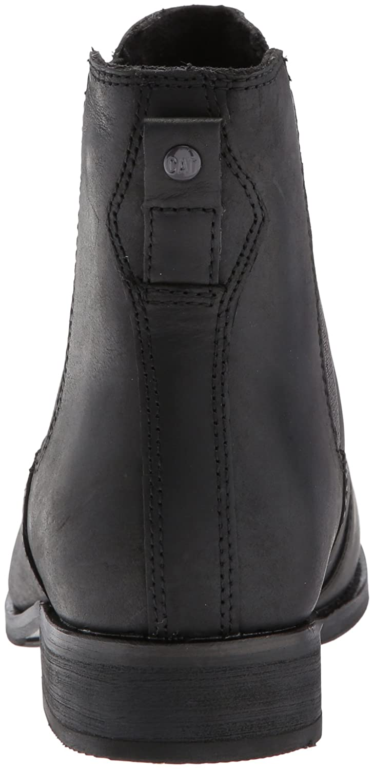 Caterpillar Women's Matilda Leather Chelsea Ankle Boot B01MSYTBT3 10 B(M) US|Black