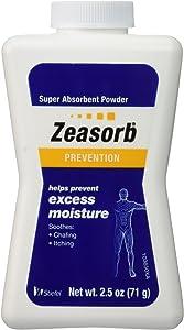 Special Pack of 6 Zeasorb Super Absorbent Powder 2.5 oz (70.9 g)