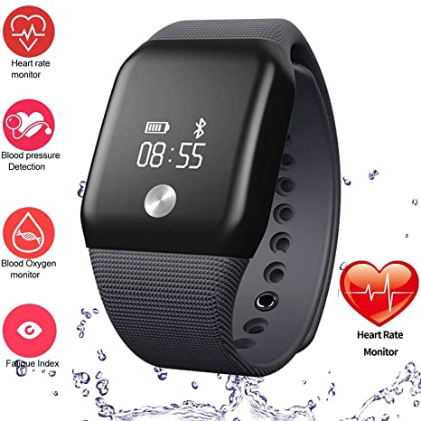 Amazon com : FROMPR Fitness Tracker A88+ Smart Watch 0 66