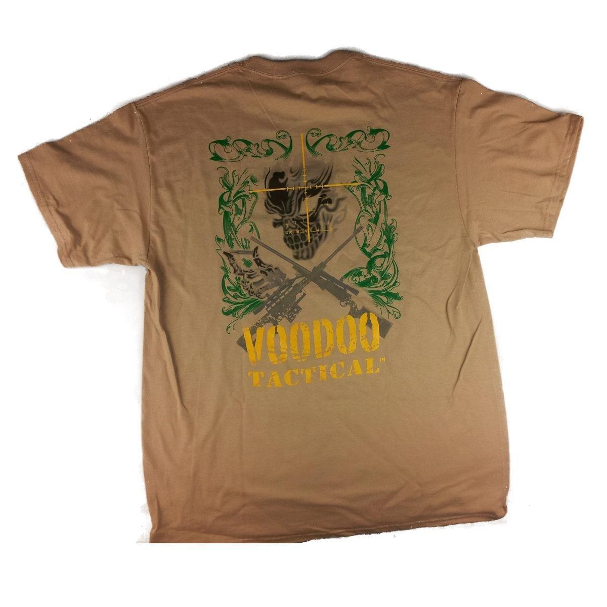 VooDoo Tactical 20-9139025096 Men's Short Sleeve T-Shirt, Sand