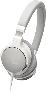 Audio-Technica ATH-SR5WH On-Ear High-Resolution Headphones