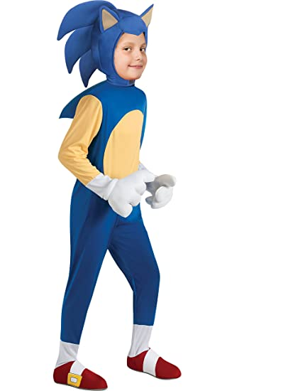 8be7fdf15c2d Amazon.com  Sonic Generations Sonic The Hedgehog Deluxe Costume ...