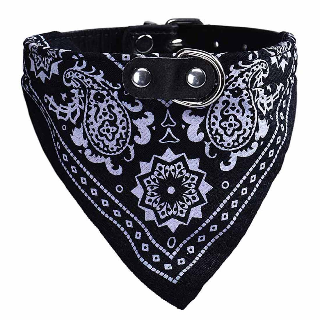 Ducomi maison Dog Collier réglable avec bandana, l'accessoire pour chien et chat, le foulard pour le ton animal