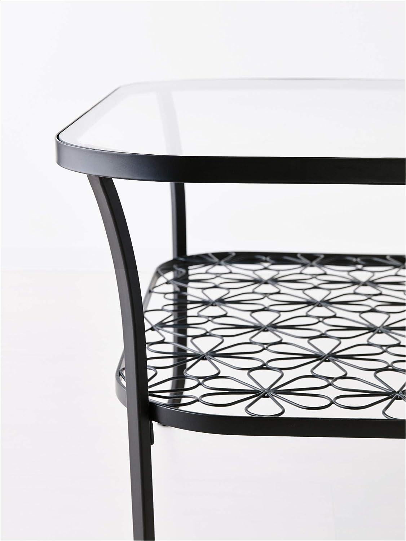 Ikea Table Basse, Noir, Verre Clair 2024.82617.2622: Amazon