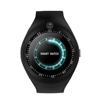 Zeerkeer Smartwatch Bluetooth con ranura para tarjeta SIM ...