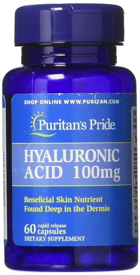 a5fa0f7cc Acido Ialuronico 100 mg 60 capsule  Amazon.it  Salute e cura della persona