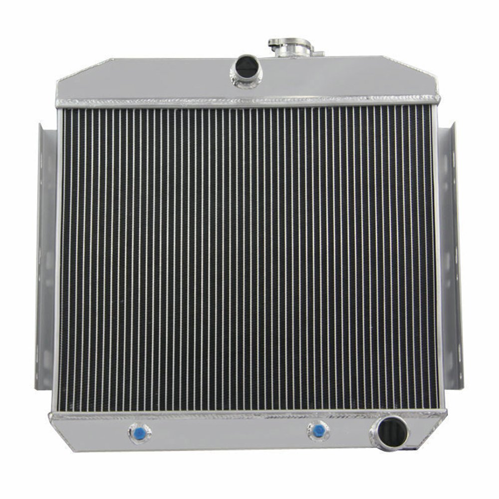 Ozcoolingparts 55 57 Chevy Radiator 3 Row Core Aluminum 1966 Chevrolet Bel Air For 1955 1957 Del Ray One Fifty Two Ten Series