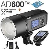 Godox AD600Pro 600Ws TTL HSS Outdoor Flash + Godox XPro-N Transmitter With Li-on Battery Two Power Supply Methods For Nikon D5 D4 D60 D70S D300 D500 D610 D7C0 D5000