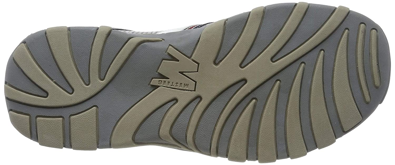 Mustang Men's 4027 707 Clogs Grey Size: 14 UK: Amazon.co.uk