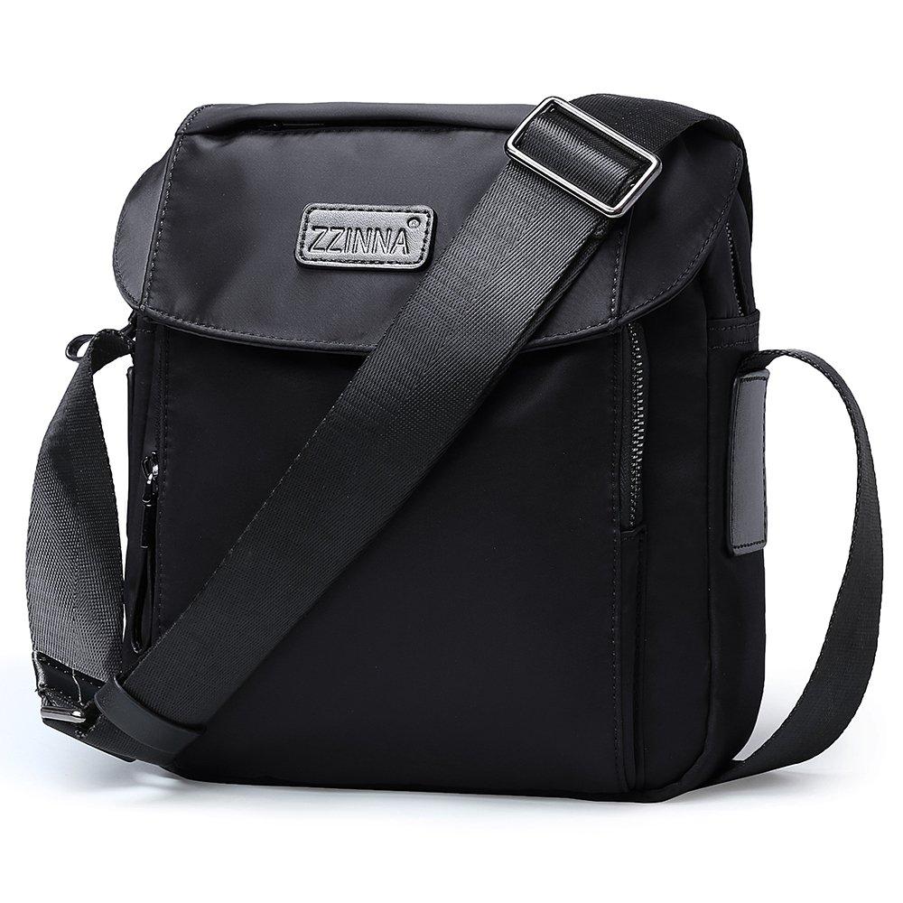 ZZINNA Man Bag Small Messenger Bag Man Purse Man Purses and Bags Waterproof Crossbody Bag for Men and Women