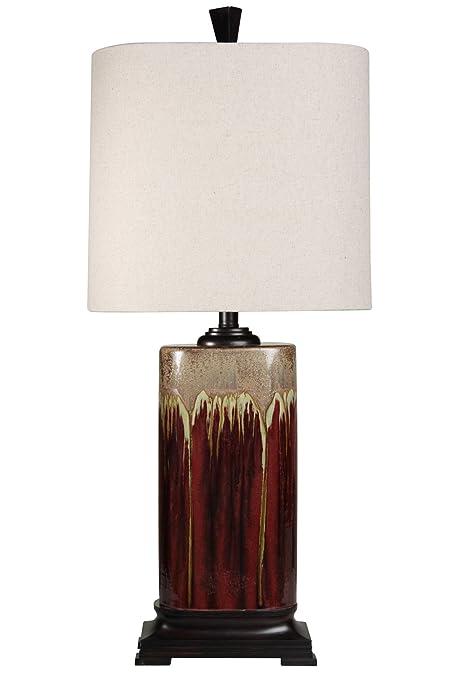 Amazon.com: Stylecraft lámpara de goteo Glaze mesa de ...