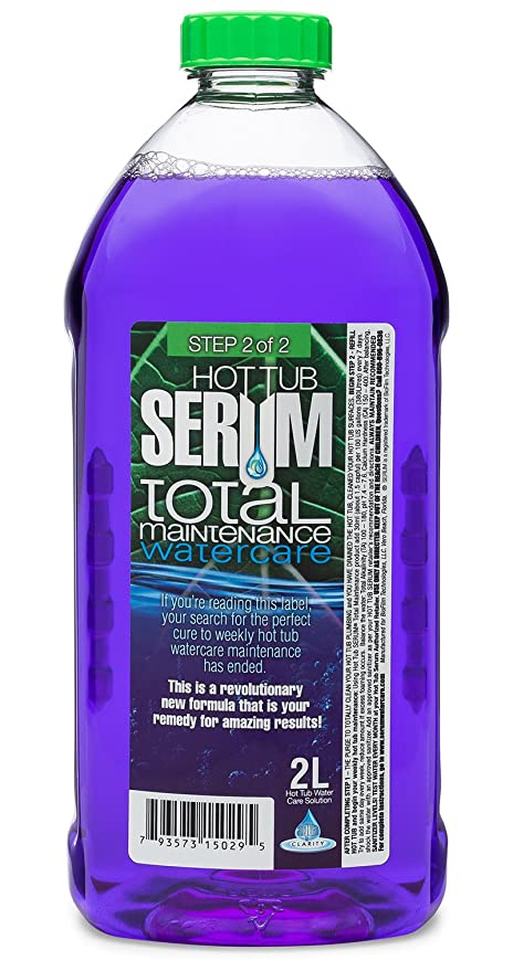 Amazon.com : Jetted Hot Tub and Spa Cleaner: Total Maintenance Serum ...