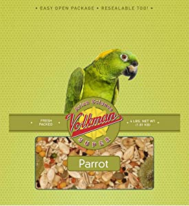 Volkman Avian Science Parrot Bird Food Mix 4 Pound (Pack of 2)